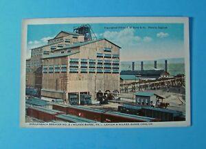 Postcard: Wilkes-Barre PA Coal Breaker, L&W-B Coal Co's Hollenback Breaker No 2