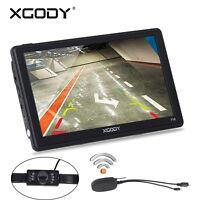 XGODY 7'' 715 Car GPS SAT Navigation HD Bluetooth Reverse Camera 8GB POI Speed
