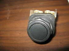 Allen Bradley 800T-AR2A Black Flush Momentary Push Button