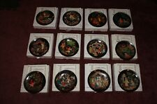 Russian Legends Firebird Tianex Bradford-Exchange Set of 12 Collector Plates