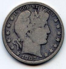 1907-o Barber half (SEE PROMO)