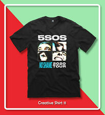 New 5SOS NO SHAME TOUR 2020 Five Seconds of Summer popular T-Shirt Gildan S-2XL