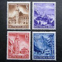 Germany Nazi 1941 Stamps MNH Marburg Veldes Pettau Triglav WWII Third Reich Germ