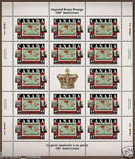 Canada -Full Gutter Pane of 14  -Sir William Mulock, Imperial Penny #1722 -MNH