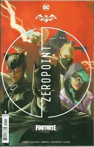 BATMAN FORTNITE ZERO POINT #1 COVER  A SEALED WITH HARLEY CODE NM- OR BETTER