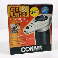 New Conair Gel & Lather Heating System Model HGL1 Shaving Barber Luxury Smooth