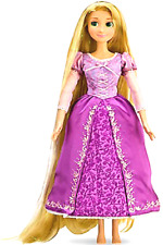 Disney Rapunzel Tangled Large Singing Doll, Extra Long Glitter Hair, First Ed