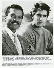 KEN WAHL BILLY DEE WILLIAMS PORTRAIT DOUBLE DARE ORIGINAL 1985 CBS TV PHOTO