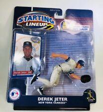 2001 Starting Lineup 2 MLB Derek Jeter New York Yankees Figure - NEW