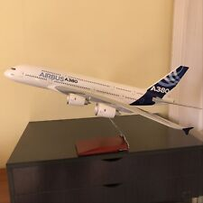 Huge 1/100 Airbus A380 House Color Airplane Model