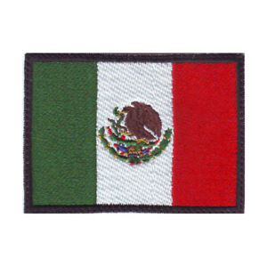 Mexico Flag Embroidered Patch