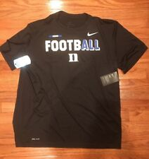 Men's Duke Blue Devils Nike Legend Football Shirt XL NWT