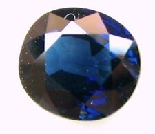 1.33 Carats Natural Mined Loose Gem Oval Blue Sapphire  6.6x6.1x3.7 MM ( LxWxD )