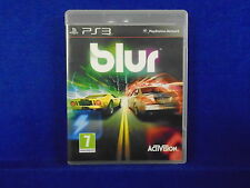 ps3 BLUR Powered-Up Racing Game Playstation PAL UK Version REGION FREE