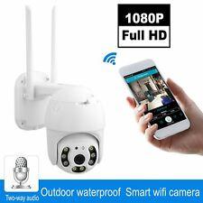 1080P Outdoor HD  FUNK WLAN WIFI IP NETZWERK CAMERA AUßEN ÜBERWACHUNGSKAMERA