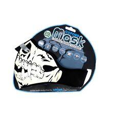 Oxford Motorcycle Bike Scooter Universal Neoprene Face Mask Glow Skull NW500