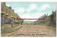 Durham Bishop Auckland Cockton Hill 1905 Vintage Postcard 5.1