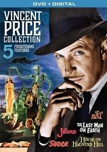 VINCENT PRICE COLLECTION - 5 FREAKING FRIGHTENING NEW DVD