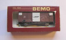 BEMO 2274323 Gedeckter Güterwagen RhB Schmalspur H0m original