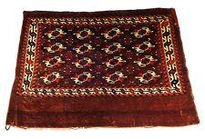 """Rare Antique Tribal Turkmen Saddle Bag face 42"""" L x 31"""" W"""