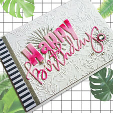 New Metal Die Cutter You Make Me Happy Word Greeting Set Cutting Dies Card Craft