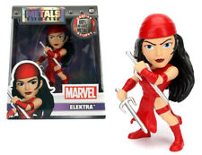 Marvel métaux Diecast Mini Figure Elektra 10 cm jada toys figures Entièrement neuf dans sa boîte