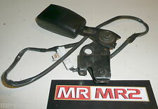Toyota MR2 MK2 Rev3 Type Drivers Side Black Seat Belt Buckle & Bracket - Right