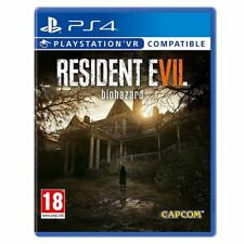 RESIDENT EVIL 7 BIOHAZARD PS4 ITALIANO GIOCO EU PLAY STATION 4 VR READY NUOVO