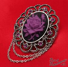 Estilo Vintage Rose Cameo Brooch Elección De Colores