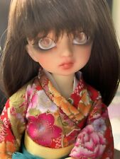 Volks yosd Ayumu Super Dollfie 1/6 Bjd Ball Jointed Doll Wigs & Yukata Outfit