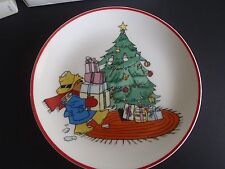 Vintage 1979 Paddington Bear Christmas Plate / Limited Edition Paddington Bear P