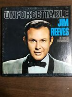 The Unforgettable JIM REEVES 5 LP VInyl Albums Good N Country Touch Of Velvet