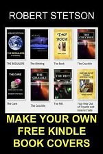 Make Your Own FREE Kindle Book Covers by Robert Stetson (2012, Paperback)