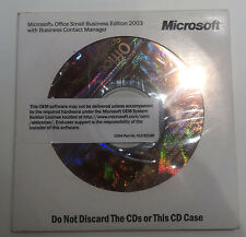 Microsoft Office Small Business Edition 2003 with Business Contact Manager
