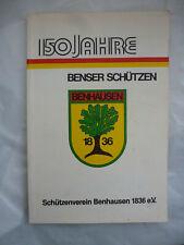 Buch 150 Jahre Benser Schützen Benhausen Paderborn Heimat Tradition Brauchtum