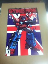 Optimus Prime #1 UK Previews Exclusive variant.First printing.