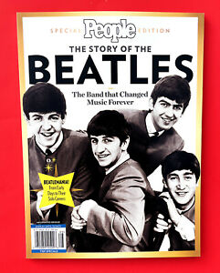 People Special Edition Magazine ~ The Story of the Beatles, 2021 BOOK