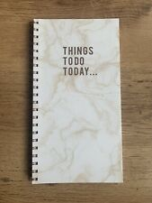 More details for things to do today pad book daily planner organiser list notebook like mrs hinch