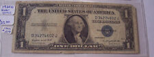 SILVER CERTIFICATE BLUE SEAL 1935 G $1 ONE DOLLAR SER#34274602