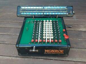 Vintage Monroe High Speed Adding Calculator