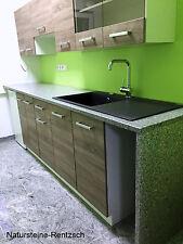 MUSTER Stein für  Küchenarbeitsplatte Naturstein Arbeitsplatte Kücheninsel grau