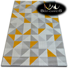 TRENDY Thick Carpets STYLISH MODERN RUG 'SCANDI' geometric CHEAP Carpet