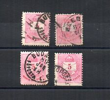 UNGHERIA, HUNGARY, UNGARN, HONGRIE, MAGYAR KIR. POSTA very old used stamps