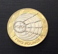 £2 Coin Marconi Wireless Across Atlantic 2001 FREEPOST