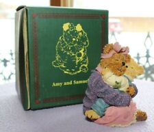 Boyds Bears & Friends Bearstone Collection - Amy and Samuel