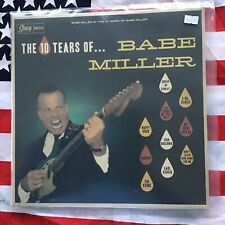 """Babe Miller - The 10 Tears Of - Rockabilly 12"""" LP"""