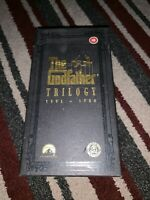 The Godfather Trilogy 1901-1980 6 VHS tapes