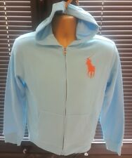 Polo Ralph Lauren Boys Age 6-7 Great Hoody Cardgain Jumper ONLY £27.00! WOW