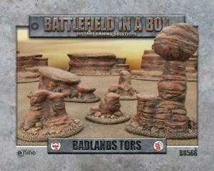 TORS - BADLANDS - BB566  - BATTLEFIELD IN A BOX -