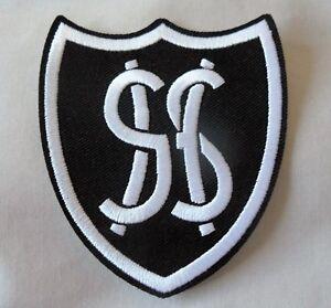 Grange Hill school disco uniform fancy dress costume. Iron on badge / patch.